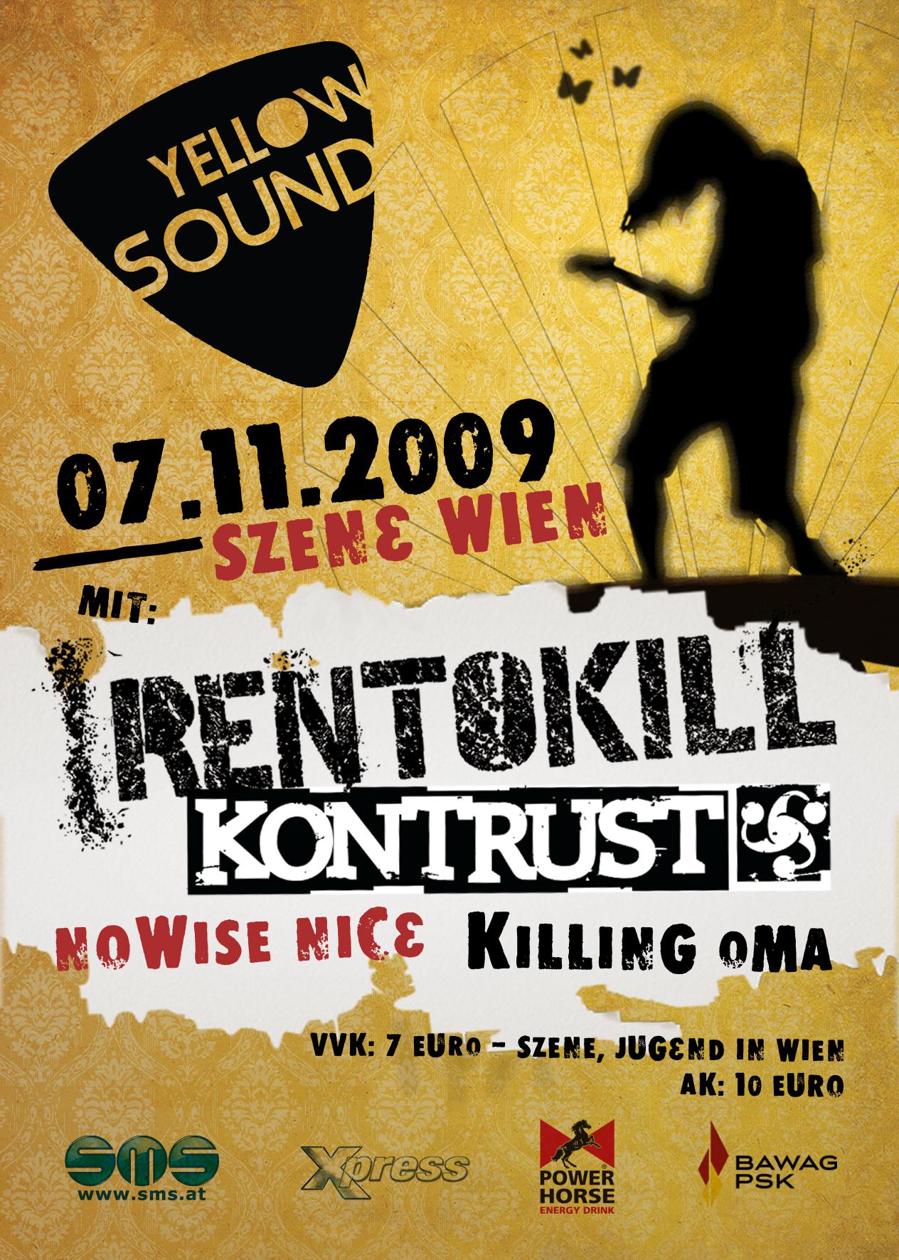 Yellowsound 2009 #3 @ Szene Wien